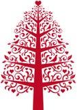 ornamentacyjny drzewo Obraz Royalty Free