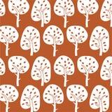 ornamentacyjny drzewo royalty ilustracja