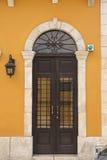 Ornamentacyjny drzwi w starym San Juan Zdjęcie Royalty Free