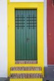 Ornamentacyjny drzwi w starym San Juan Obrazy Royalty Free