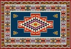 Ornamentacyjny Dywanowy projekt Zdjęcia Stock