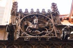 Ornamentacyjny element na budynku Obraz Royalty Free
