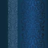 ornamentacyjny graniczny Obraz Royalty Free