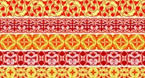 ornamentacyjny graniczny Obrazy Royalty Free