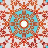 Ornamentacyjny Kolorowy wzór również zwrócić corel ilustracji wektora Fotografia Royalty Free