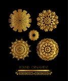 Ornamentacyjny koronka wzór dla ślubnych zaproszeń i kartka z pozdrowieniami Fotografia Stock