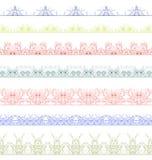 Ornamentacyjny kwiecisty bezszwowy wzór Zdjęcie Royalty Free