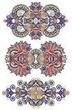 Ornamentacyjny kwiecisty przybranie Obraz Stock