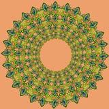 Ornamentacyjny kwiecisty skład Obrazy Royalty Free