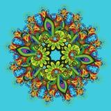 Ornamentacyjny kwiecisty skład 2 Zdjęcie Stock