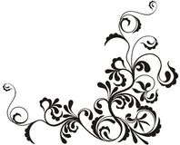 ornamentacyjny kwiecisty tła Obrazy Stock