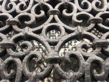 Ornamentacyjny Nadokienny ochrona bar Obrazy Stock