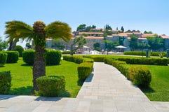 Ornamentacyjny ogród Zdjęcia Royalty Free