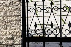 Ornamentacyjny ogrodzenie 4 Obrazy Royalty Free