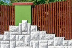 Ornamentacyjny ogrodzenie 8 Zdjęcie Royalty Free