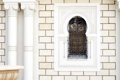 Ornamentacyjny okno w Tunezja Zdjęcie Royalty Free