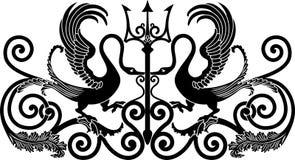 Ornamentacyjny ptak Fotografia Royalty Free