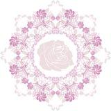 Ornamentacyjny purpurowy kółkowy element Zdjęcie Royalty Free