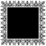 ornamentacyjny ramowy Obraz Stock