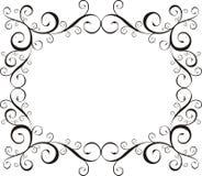 ornamentacyjny ramowy Fotografia Royalty Free