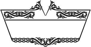 ornamentacyjny ramowy Fotografia Stock