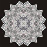 Ornamentacyjny round dla Paisley. Zdjęcia Stock