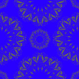 Ornamentacyjny round organicznie bezszwowy wzór, okręgu tło z dużo szczegóły Zdjęcie Royalty Free