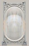 Ornamentacyjny rzeźbiący kamień Fotografia Royalty Free