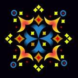 Ornamentacyjny skład 1 Obrazy Royalty Free