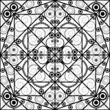 Ornamentacyjny tło royalty ilustracja