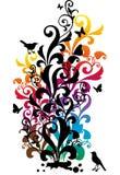 ornamentacyjny tło Obraz Stock