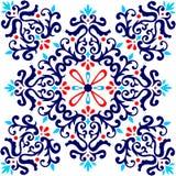 Ornamentacyjny tkanina projekt Zdjęcia Royalty Free