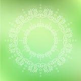 Ornamentado floral circular Fotografia de Stock