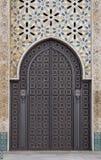 ornamental двери Стоковое Изображение
