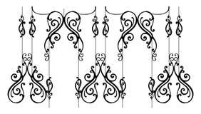 ornamental загородки Стоковая Фотография RF