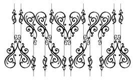 ornamental загородки Стоковое Изображение RF