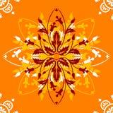 ornamental конструкции померанцовый Стоковое фото RF
