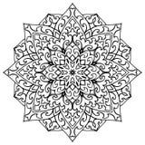 ornamental мандала Стоковые Изображения