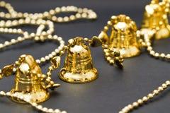 ornamental рождества колоколов Стоковые Фото