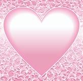 ornamental сердца Стоковое Изображение