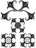 ornamental 62 искусств причудливый флористический иллюстрация штока