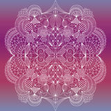 Ornamental abstract pattern Stock Photo