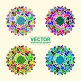 Ornamental arabe de vecteur Images stock