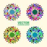 Ornamental arabe de vecteur Images stock