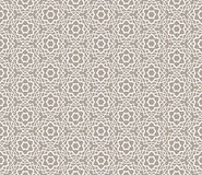 Ornamental Arabic Seamless Pattern Royalty Free Stock Photos