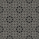 Ornamental arabic seamless pattern Stock Photos