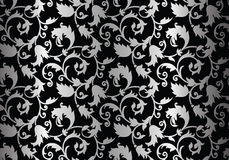 Ornamental background. Seamless ornamental background and wallpaper Stock Photo