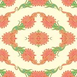 Ornamental background Stock Images