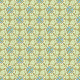 Ornamental background , green - blue Stock Images