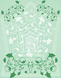 Ornamental background, vector Stock Photo